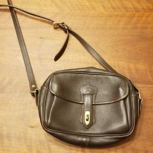 Vintage Dooney&bourke Leather Crossbody Purse